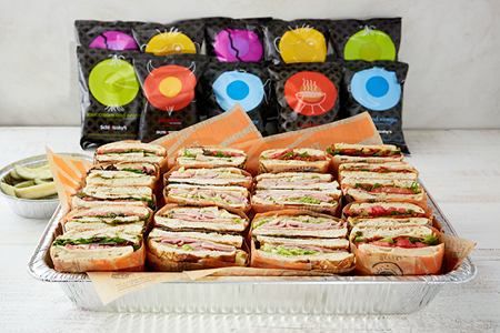 Cold Cafe Sandwich Tray