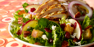 Cranberry, Apple, Pecan & Chicken Salad Lunch