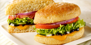 Fresh Veggie Sandwich (Vegetarian)