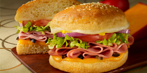 Ham & Cheese Original Style Sandwich
