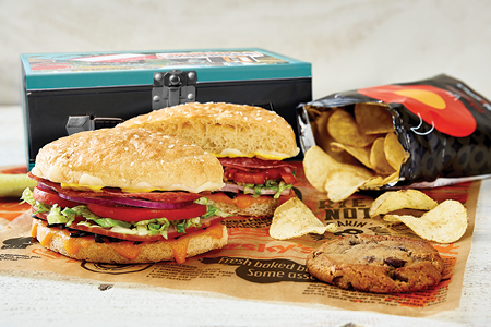 Sandwich, Pizza, Flatbread & Salad Lunch Boxes category