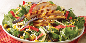 Southwestern Chicken Salad Lunch