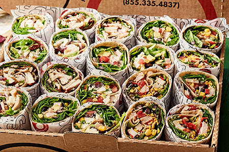 Austin Eatery Salad Wraps category